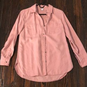 Old navy pink cargo shirt